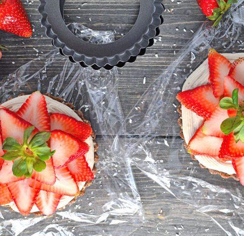 Strawberry Cream Tarts