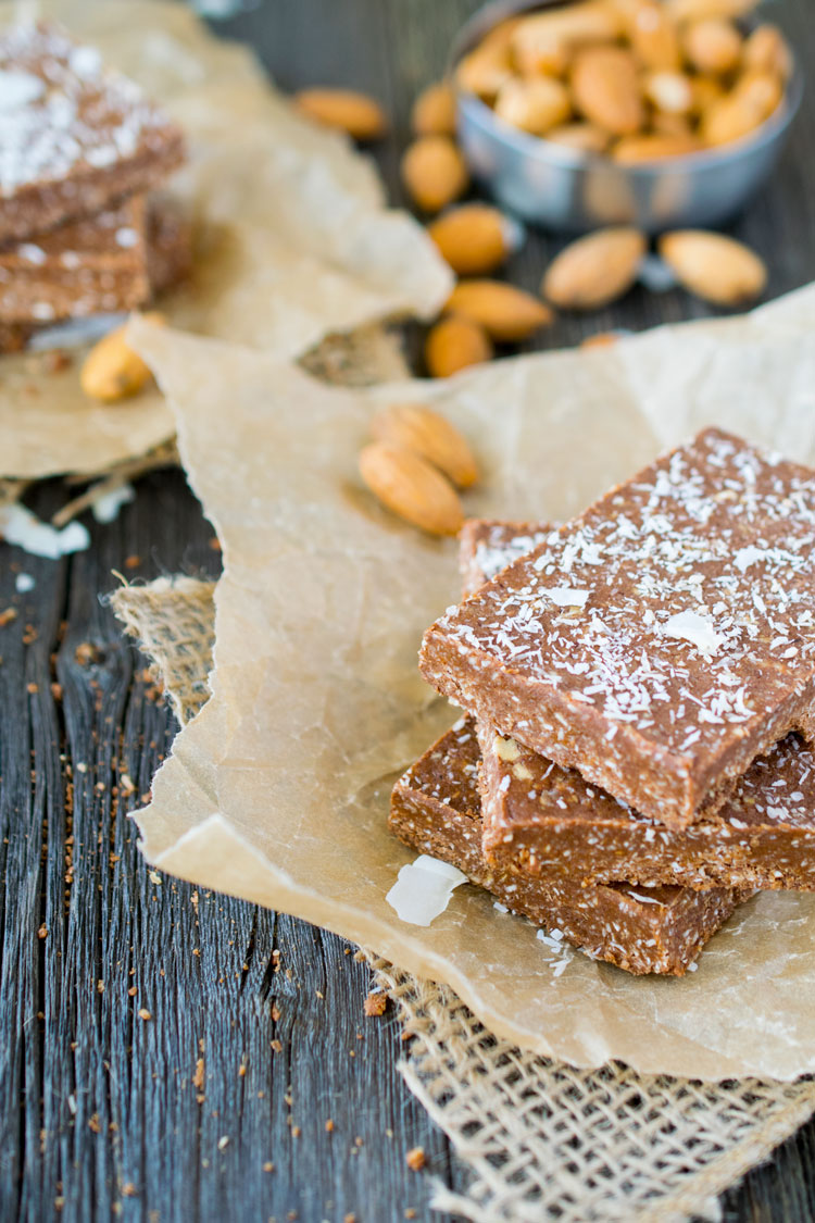 Cacao Power Protein Bars