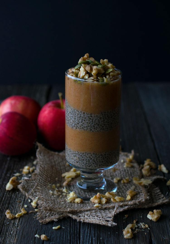 Apple Chia Pudding Parfait