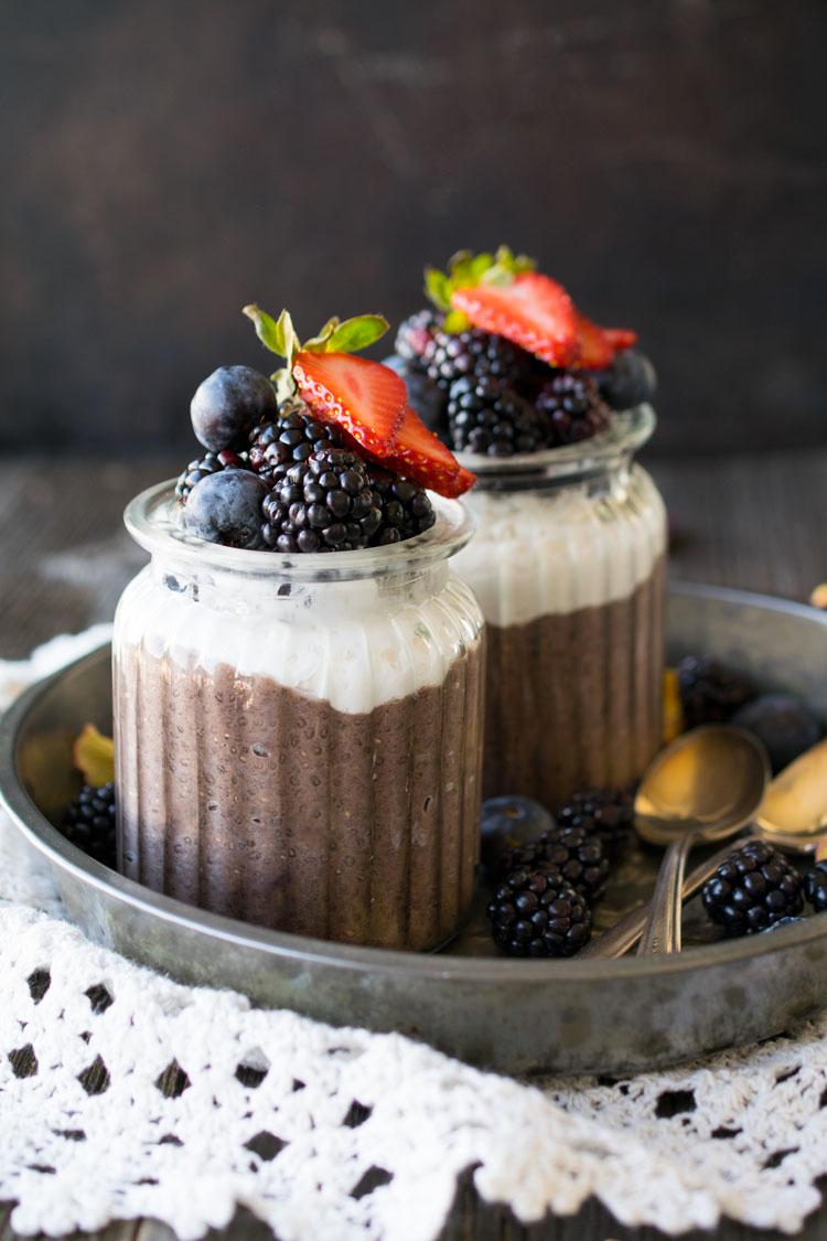 Maqui Berry Chia Pudding