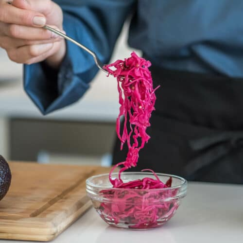 Simple Pickled Cabbage
